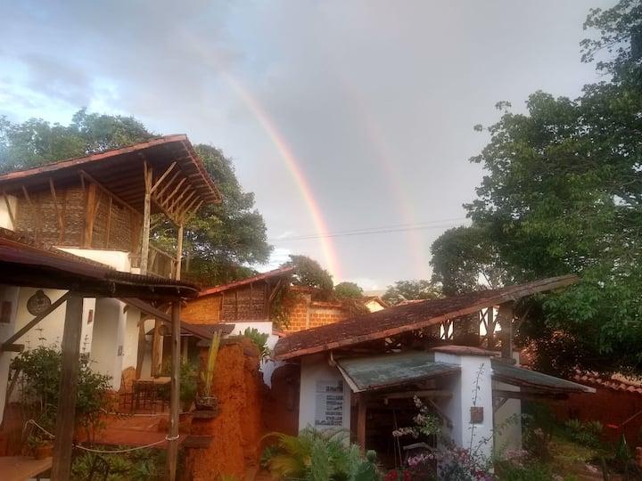 Cabaña en Barichara con la mejor ubicacion