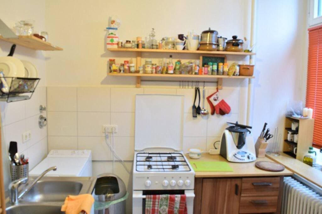 A bit small kitchen but fully equiped :)