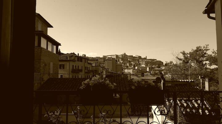 Appartamento con vista su Perugia