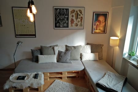 comfartable & cozy room Berger Straße downtown - 法兰克福 - 公寓