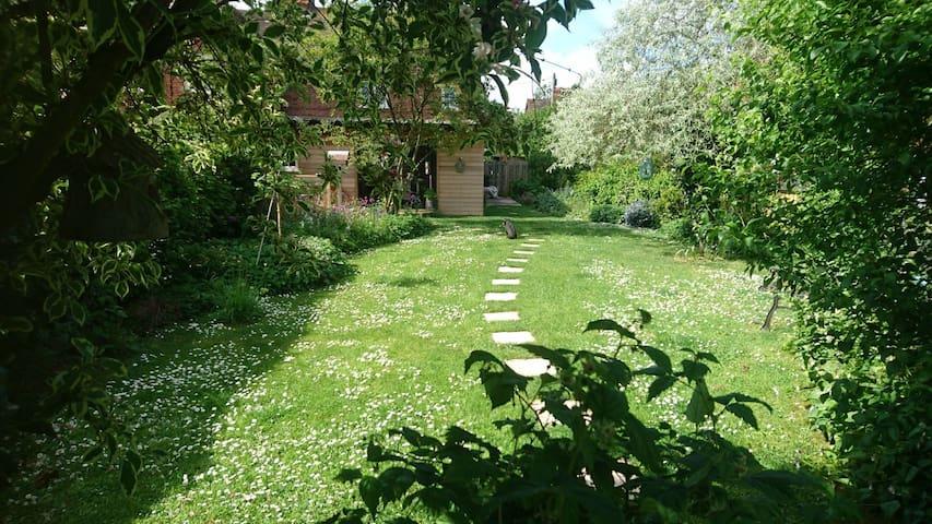 Luscious Garden to be enjoyed when sunny.