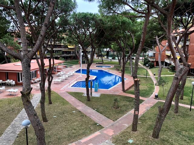 Bonito y espacioso apartamento en Gava Mar