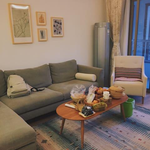 位于贵阳城市中心的清新简洁单人房,繁华地段独享舒适与安静 - 贵阳 - Apartamento