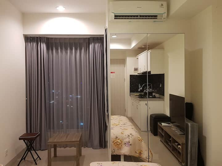 Apartemen Grand Kamala Lagoon Bekasi Studio 28 m2