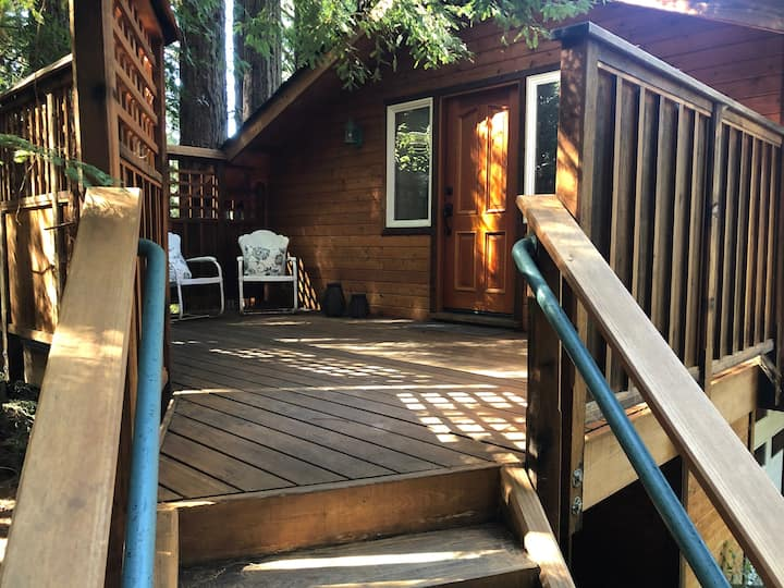 The Enchanted Redwood Cottage