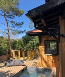 Maison en bois idéalement située au Cap Ferret