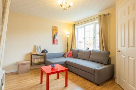 Sunny room in quiet cul-de-sac - Cambridge - Haus
