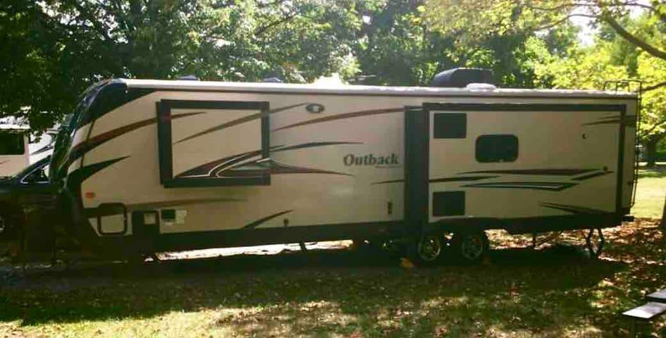 Luxury RV with Seneca Lake access