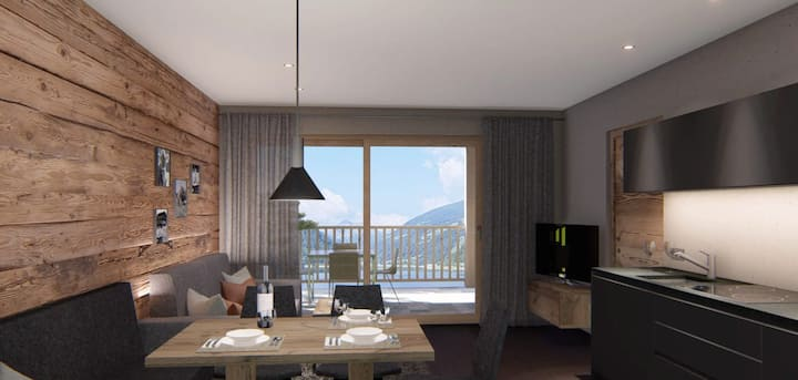 """Cosy Apartment """"Seebrunn - Ferienwohnung Riemerbergl Alm"""" with Mountain View, Lake View, Wi-Fi, Terrace & Garden; Parking Available"""