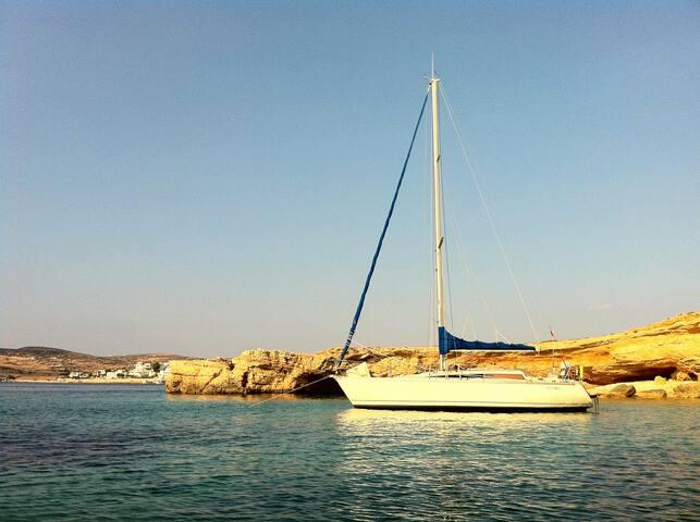 Nice sailing boat in L'Estaque, Marseille - Marseille - Boot