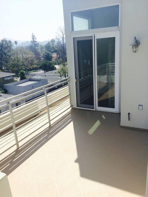 Balcony Access.