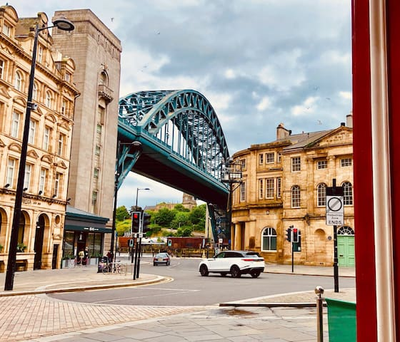 Beautiful apartment on Newcastle quayside