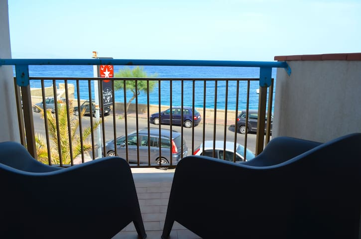 Acquamarina 9 - apartment in front of the beach - Santa Teresa di Riva - Byt