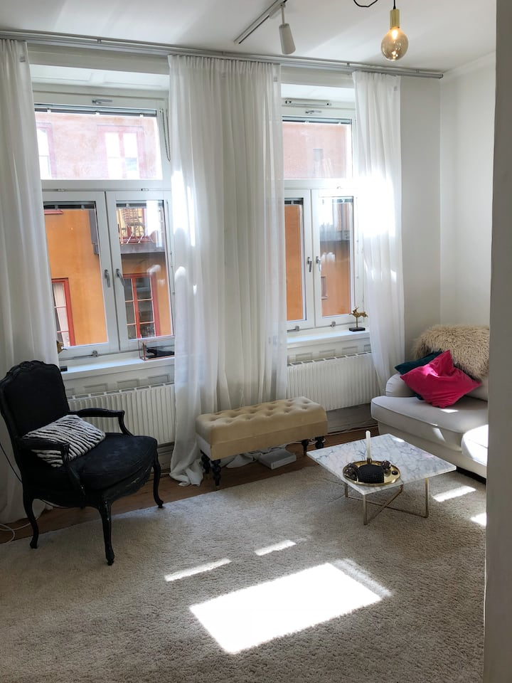 Super cosy apartment at the heart of Södermalm.