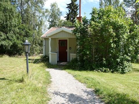 Naturnära stuga intill Hosjön, Falun, Sweden