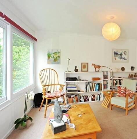 Sunny double bedroom in the city center - cambridge - Apartamento