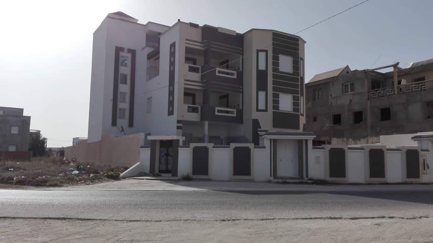 Résidence sur la plus belle plage de Tunisie Hajeb