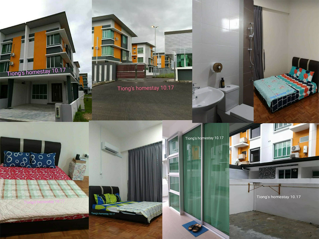 Tiong's Homestay 6a Gated -Sibu  bedroom for rent