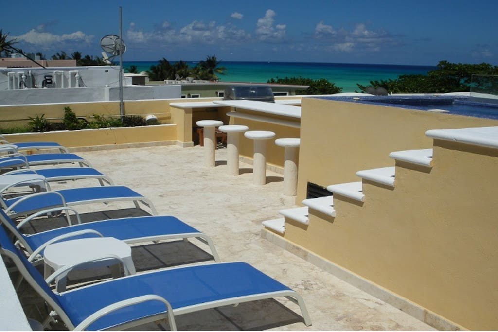 Amazing 5br villa at playacar villas for rent in playa for Villas quintana roo