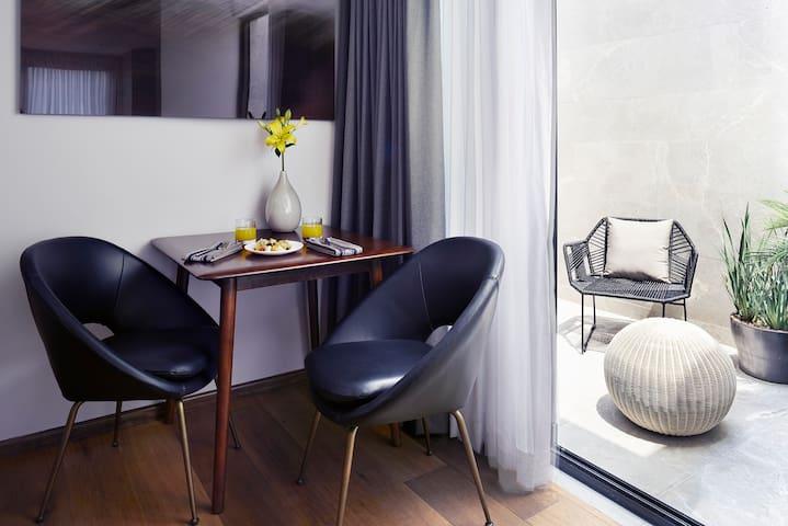 ▶ Private Studio in Condesa 1 BD, 1BA