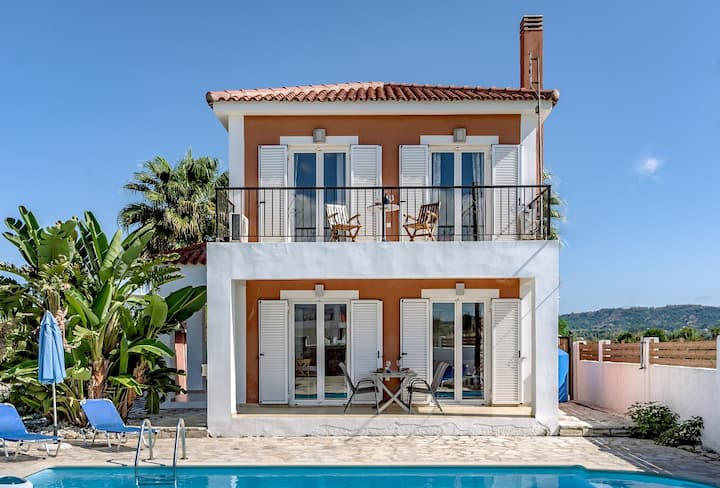 Villa Christine on the Greek Island of Zakynthos!