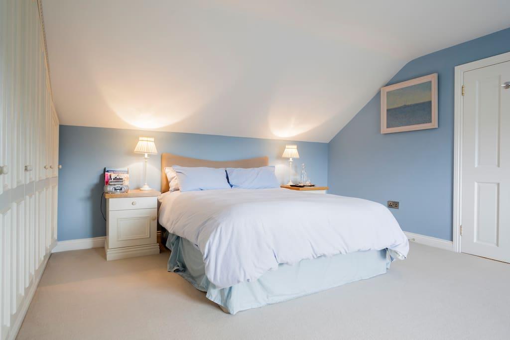 Large kingsize bed