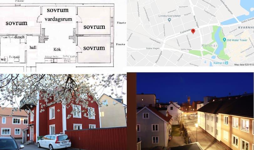 Centrala Kalmar vid biblioteket