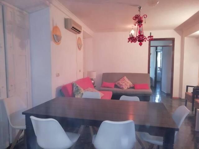 Apartamento 11pax GRUPOS ALCAZABILLA 600m PLAYA