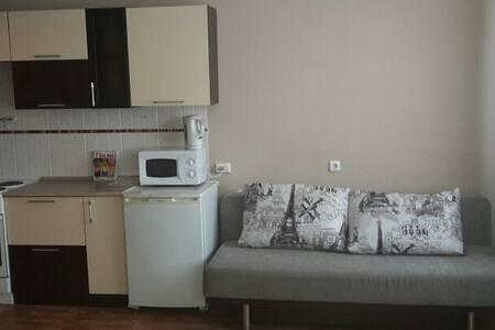Однокомнатная квартира в высотке с отличным видом - Krasnoyarsk - Appartamento