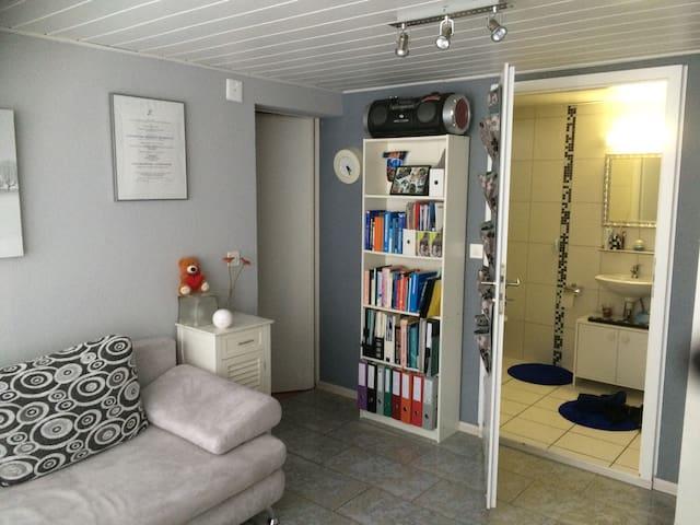 Belle chambre proche Estavayer - Vesin - บ้าน