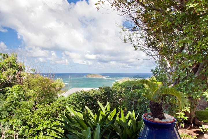Villa Moorea St Barth One bedroom + loft sea view
