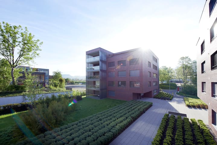 Serviced Apt. category 5 (46.50sq.m.) with balcony - Zug - Apartemen