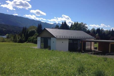 Sonniges Ferienhaus am Pressegger See mit Seeblick - Hermagor - Dům