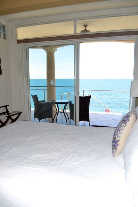 Keep in mind that you will always have the best view from your bed!