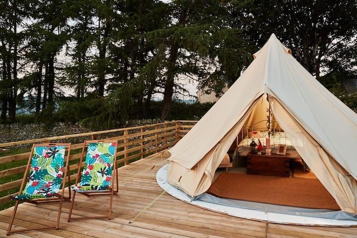 Swallow Barn Glamping - The Cwtch