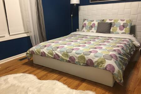 Chic, Modern Room | Safe Neighborhood | Near Bragg