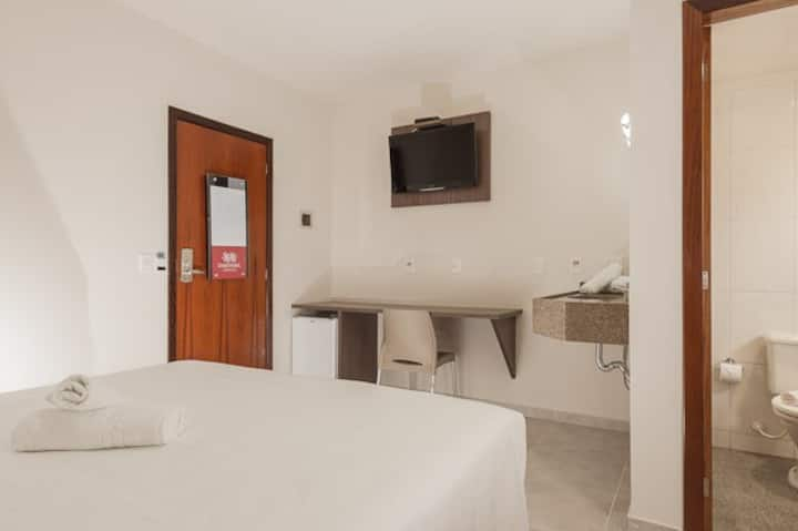 Hotel Dois H - Quarto Duplo Standard