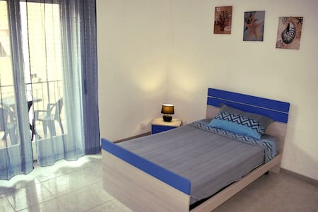 Blue Sea Room - Balcony - Beach 400m - Wifi - Gaeta
