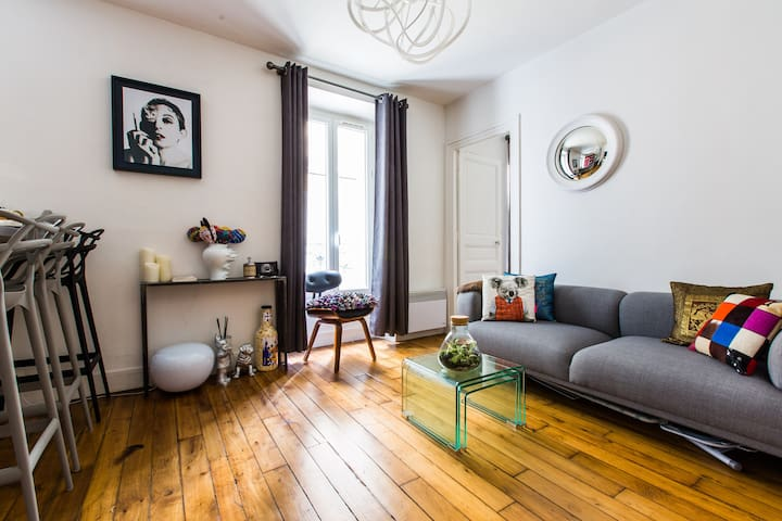 Lovely 1bedroom appartment Montmartre/Pigalle