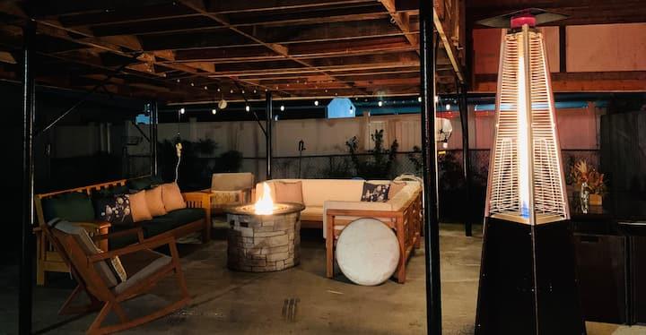 Home Oasis/Fort Lee/VSU/ 95/FirePit/Outdoor Lounge