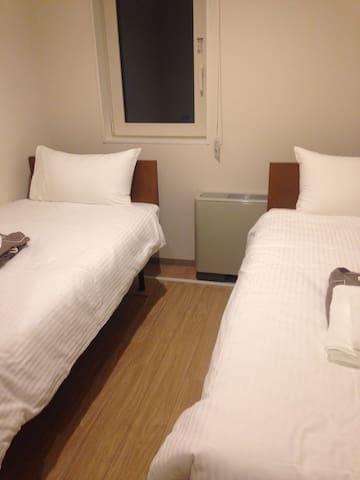 Clean and reasonable room in Hirafu - Kutchan - Dortoir