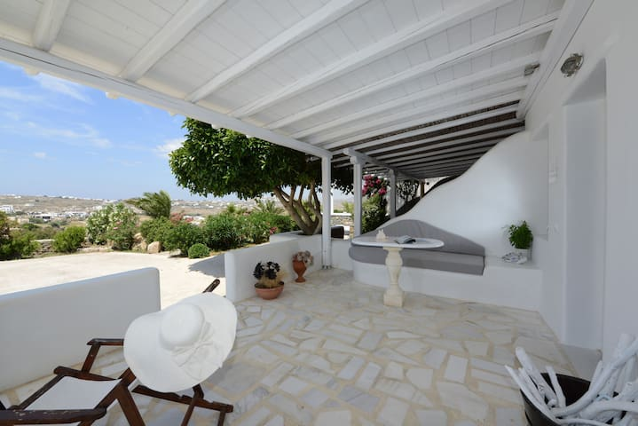 -30 m2- Studio up to 3 persons, near Mykonos Town
