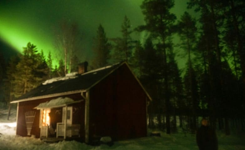 Cabin in stunning beautiful Swedish Lapland