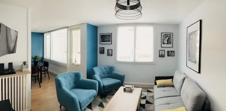 Bel appartement moderne de 70m2 en hyper centre...
