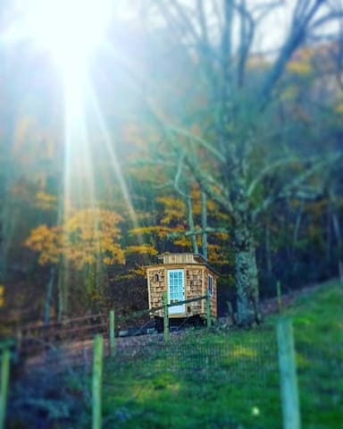 Gypsy Wagon Tiny Home-Near Grayson Highlands