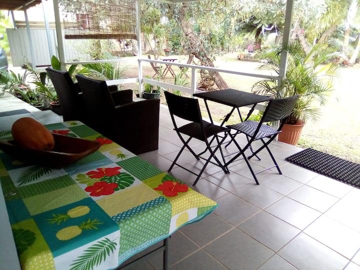 bungalow Tiare/transferts/voiture