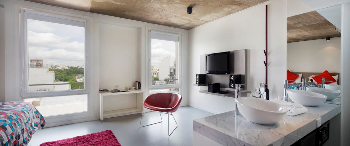 Modern studio in the heart of Palermo