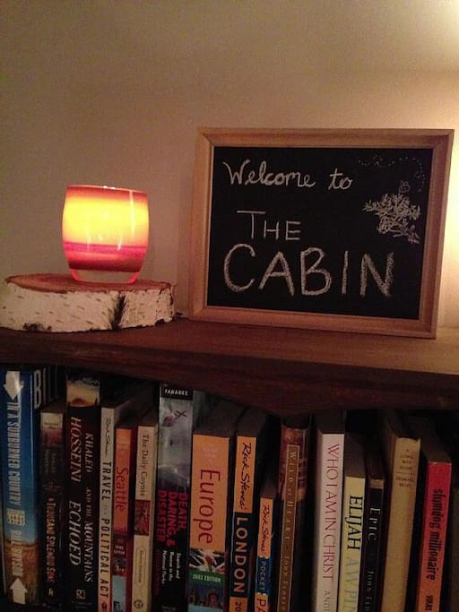 Welcome to the Cabin - Use these books to plan your next adventure.