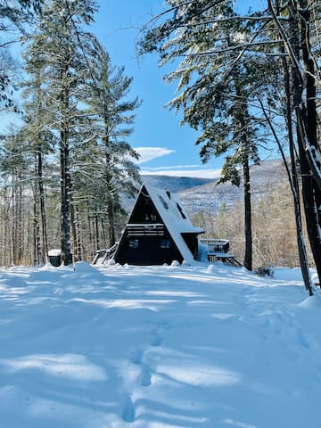 Upscale A-Frame Nestled In the Woods
