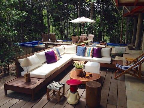 Casa Charmosa na Floresta Amazônica